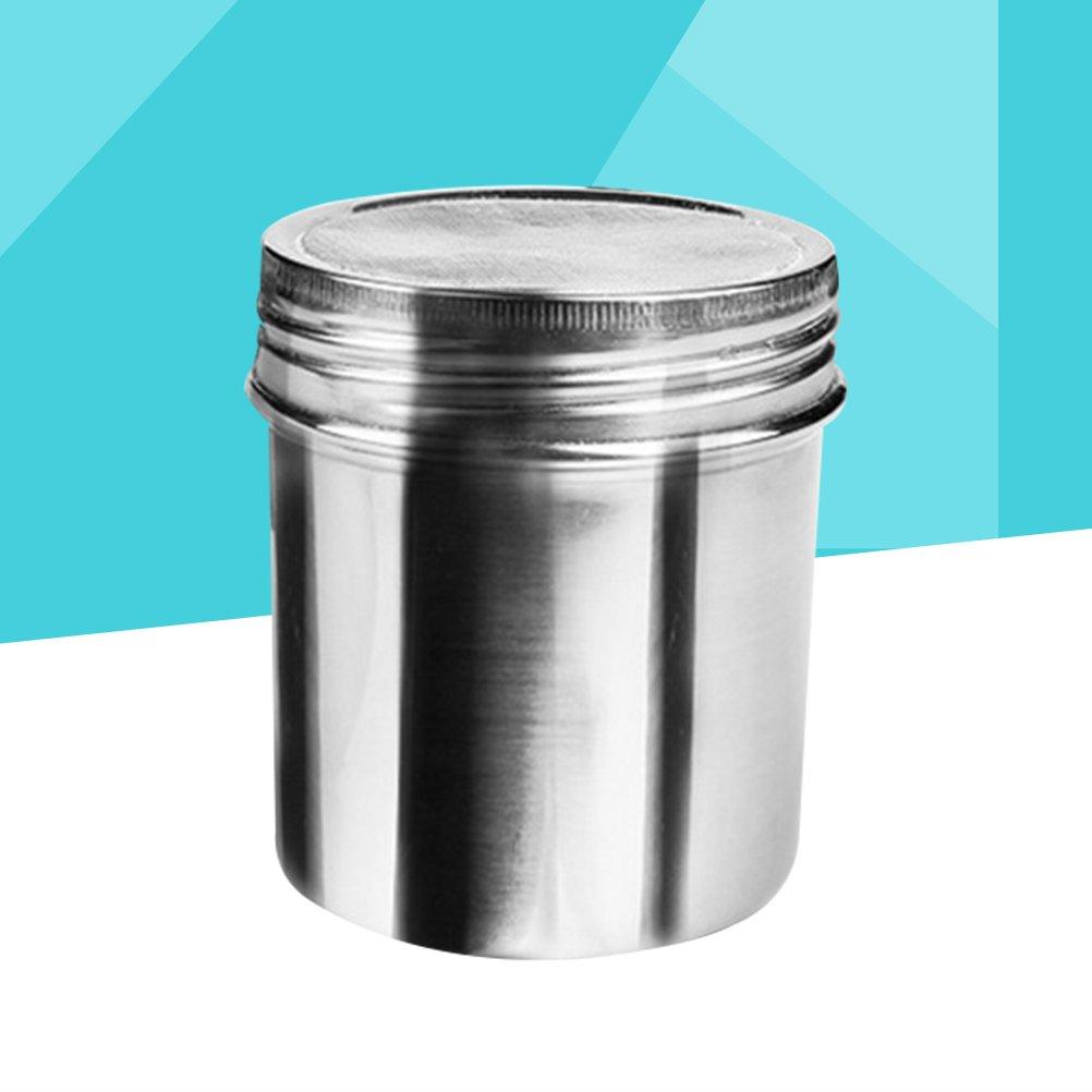 UPKOCH Agitador Condimento de acero inoxidable Condimento Coctelera Titular Queso Coctelera Chilli para pimienta Canela Curry