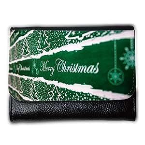 le portefeuille de grands luxe femmes avec beaucoup de compartiments // M00153993 Fondo de la Navidad // Medium Size Wallet