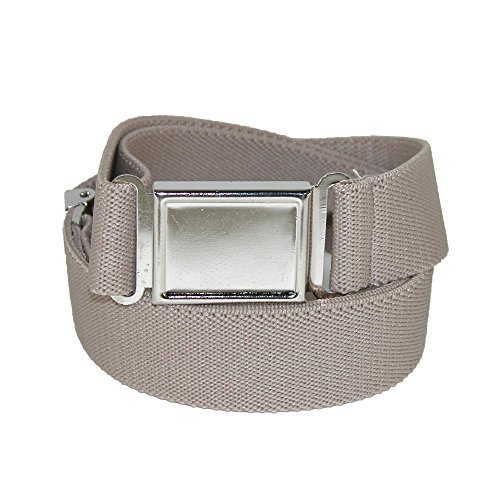 CTM Kids Elastic Adjustable Belt with Magnetic Buckle (Pack of 3)