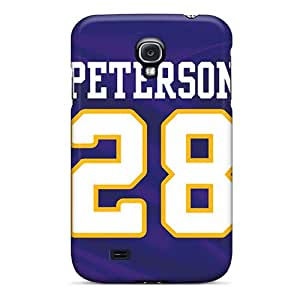 Perfect Cell-phone Hard Cover For Samsung Galaxy S4 With Provide Private Custom Lifelike Minnesota Vikings Skin SherriFakhry