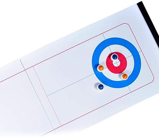Mississ Juegos De Curling, Juegos De Mesa Que Se Pueden Unir, Juegos De Entretenimiento, Juegos De Mesa Grupales Adecuados para Llevar En Familia, Juegos De Mesa De Entrenamiento Juegos: Amazon.es: Hogar