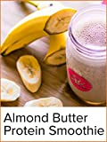 Chocolate Almond Butter Post-Workout Protein Smoothie