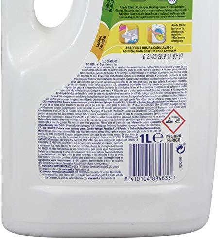 Vanish líquido blanqueador - 1 L: Amazon.es: Salud y cuidado personal