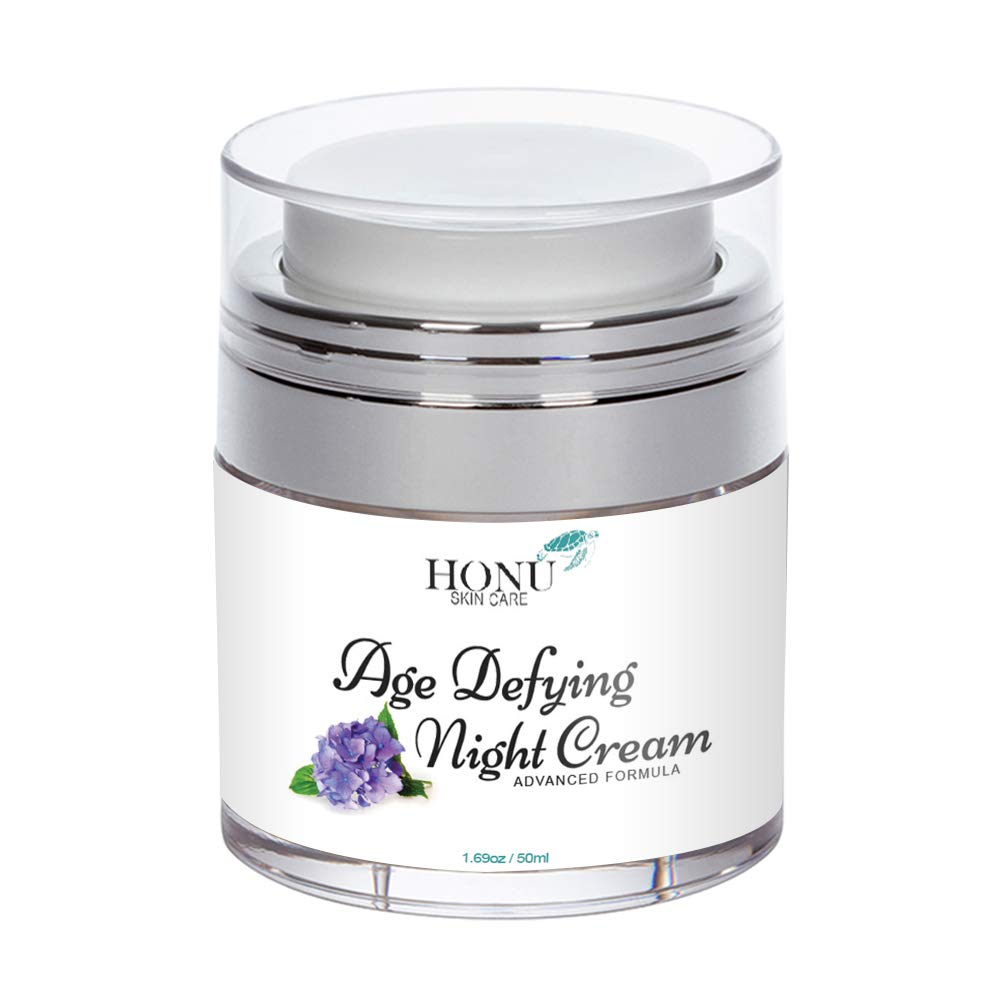 Anti Aging Night Cream & Wrinkle Cream - Perfect Night Cream For Face - Advanced Face Lotion Formula - Supports Skin Elasticity & Firmness, Dark Spots, Blemishes, While Toning & Tightening Skin