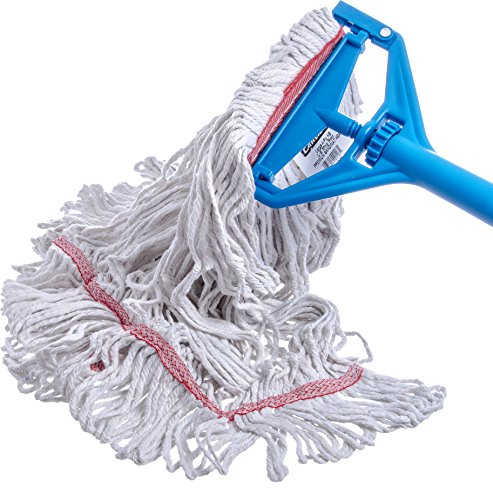 Carlisle 369425B00 Loop-Ended Narrow Band Mop Head Only, Large, Red (Pack of 12) by Carlisle (Image #4)