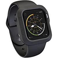 Actionproof Apple Watch Case 42mm - Cover Protection for Sports - Made with Premium and Durable Rubber [Laperen...