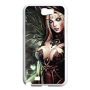 Samsung Galaxy N2 7100 Cell Phone Case White Valeera Sanguinar 003 LAJ7139812