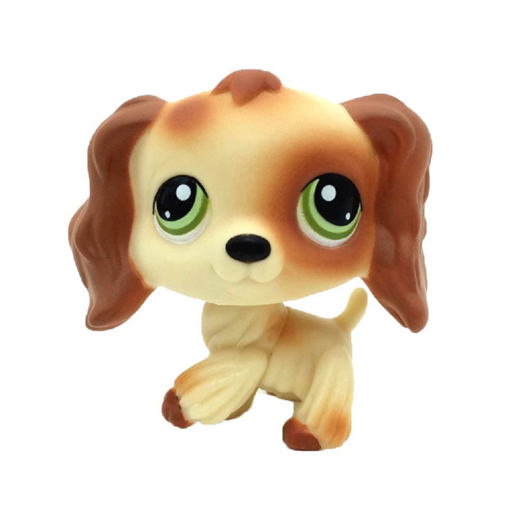 とてもキュートでカラフルなハートの顔 LPS 犬のおもちゃ 123Loop LPS ペット コリー 犬 子供 女の子 フィギュア トイ ルース キュート One size CCH-80731461 B07J65W3QP C C