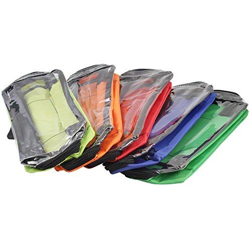 Modultaschen SET Nylon in 5 Farben für Notfallrucksack und Notfalltasche