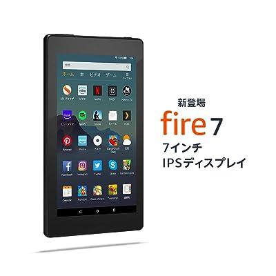 【24時まで】Amazon IPS液晶搭載7インチタブレット Fire 7 タブレット 16GB Newモデル 送料込3,280円(2台で2,280円/台)【まとめ買いでお得】