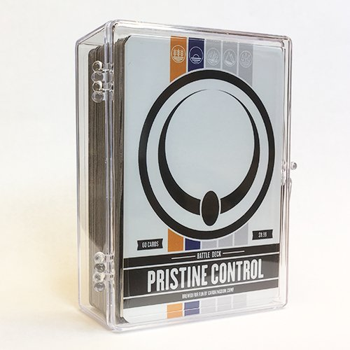 Magic: The Gathering Pristine Control Battle Deck MTG Preconstructed White Blue Deck. 60 Cards. ()