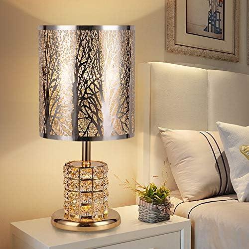 Iluminación de interior Lámparas mesilla de noche Lámpara de mesa nórdica minimalista moderna de acero inoxidable, MT709, para el salón, mesita para el sofá, oficina: Amazon.es: Iluminación