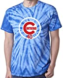 "The Silo TIE DIE BLUE Chicago Contreras ""LOGO"" T-Shirt"