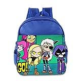 Together Teen Titans Go Kids School Backpack Bag RoyalBlue