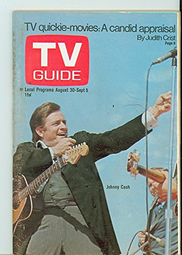 1969-tv-guide-aug-30-johnny-cash-chicago-edition-no-mailing-label-good-to-very-good-2-1-2-out-of-10-