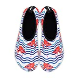Womens and Mens Water Shoes Barefoot Quick-Dry Aqua