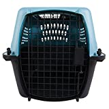 Petmate 2-Door Top Load Kennel, Blue, 24'' L X 16.8'' W X 14.5'' H, X-Small