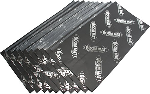 (Design Engineering 050210 Boom Mat Sound 2mm Damping Material with Adhesive Backing, 12.5