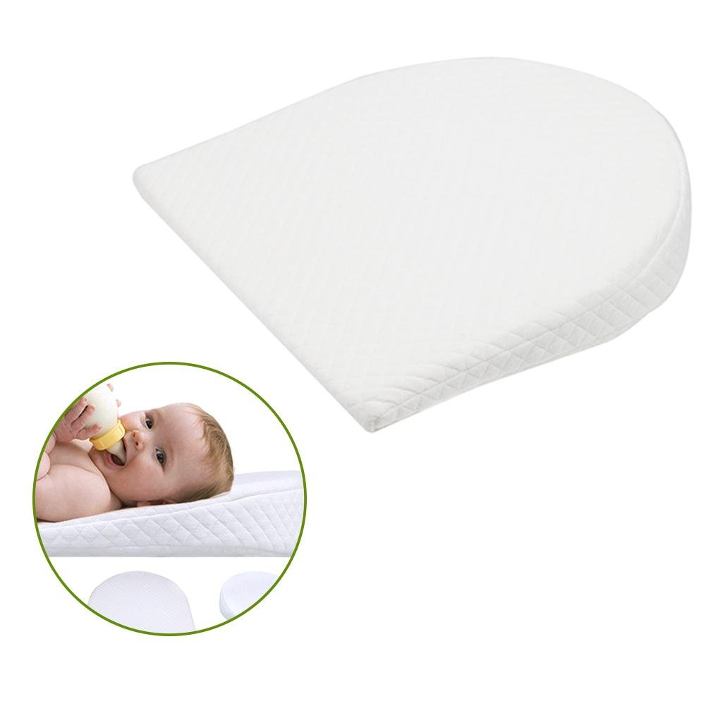 Memory Resilience Cotton Detachable Slope Shaped Shaping Pillow Milk Anti-Reflux Pillow For Baby