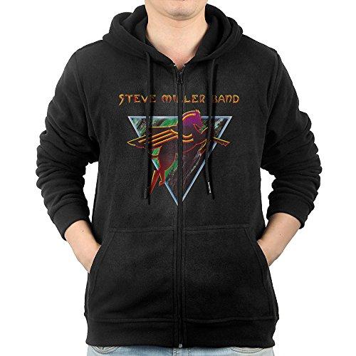 The Very Best Of The Steve Miller Band Mens Zipper Hooded Sweatshirt Design Best Hoodie (The Very Best Of The Steve Miller Band)