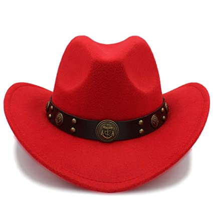 4718fdd0 Amazon.com: MTX-Hats Various Styles 100% Wool Cowboy Hat for Men ...