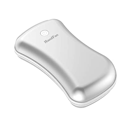 Comfy Degree Rechargeable Hand Warmers 5200mAh Power Bank Electric Hand Warmer Double-sided Heating Portable USB Mobile External Battery Charger Best Gift in Winter for Women Man