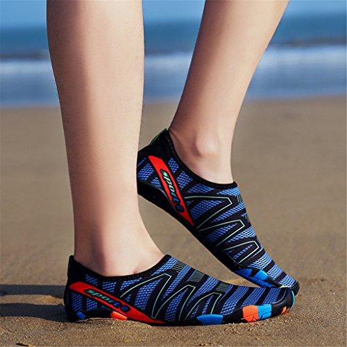 sport plein Chaussures greyblue femmes HUSK'SWARE pour séchage pour à rapide entraîneurs les de A186 Aqua air de xEnnOC