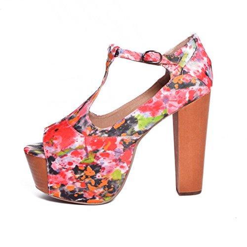 Multicolore Escarpins Femme Jeffrey Campbell Pour 36 Rose I1q5awC