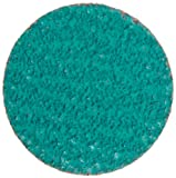CORE Abrasives 92136 Laminated Quick Change Abrasive Disc, Polyester/Cloth Backing, Core-Lock-R, Zirconium, 2'' Diameter, 40 Grit (Pack of 10)