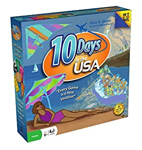 10 Days In The USA Board Game