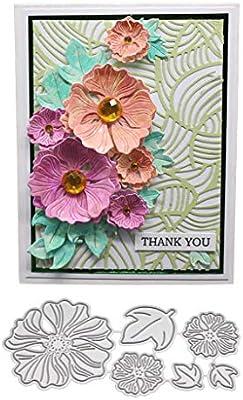 3D DIY Flower Cutting Dies Stencil Scrapbooking Album Paper Card Craft Gifts