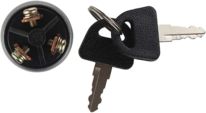 Universal Ignition Switch Assembly Kit with 2 Keys for Car Truck Trailer GLF
