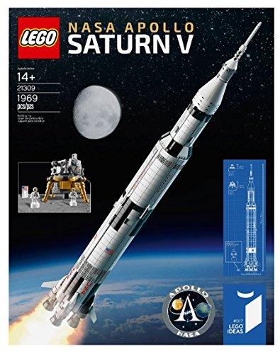 (2017 Lego 21309-- Ideas NASA Apollo Saturn V set)