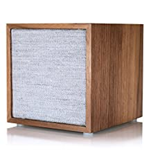Tivoli CUBWAL Surround Portable Bluetooth Speaker, Set of 1, Walnut