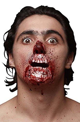 [Ghoulish Masks Meat Lover Prosthetic Kit-Standard] (Zombie Prosthetics)