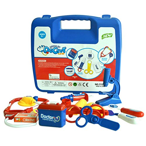 Leegor Childrens Kids Role Play Doctor Nurses Toy Set Hospital Simulation Utensils Medical Kit Christmas Gift