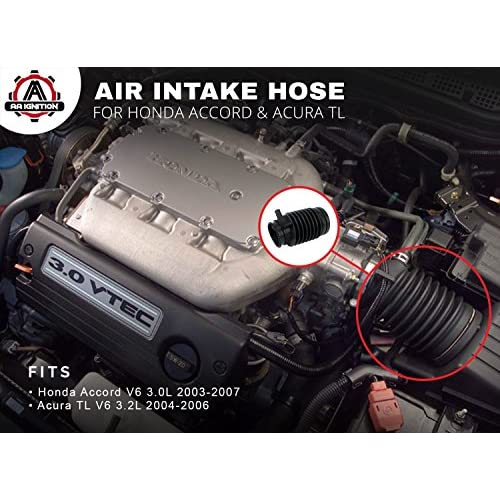 New Air Intake Hose for Honda Accord 2006-2007