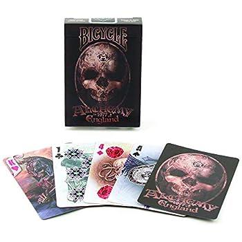 Tarjetas de reproducción de índice estándar con diseño de Fantasy para Bicicleta, tamaño de póquer, Alchemy, Marrón, 1-Paquete