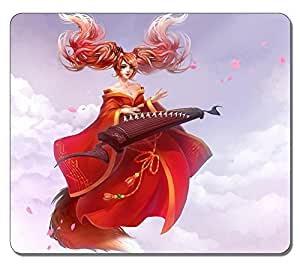 Customized Fashion Style Textured Surface Water Resistent Mousepad Sona League Of Legends 2 High Quality Non-Slip Gaming Mouse Pads by mcsharksby Maris's Diary