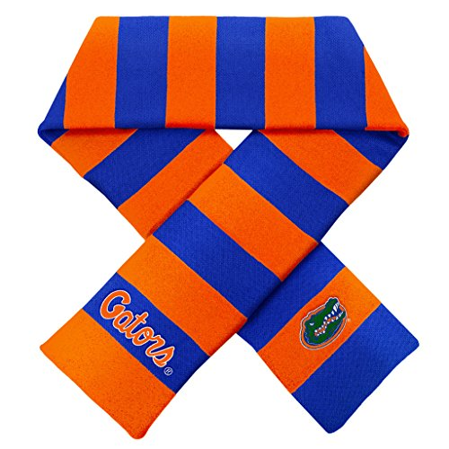 Florida Striped Shirt (Florida Gators Official NCAA Striped Rugby Scarf by Forever Collectibles 380646)