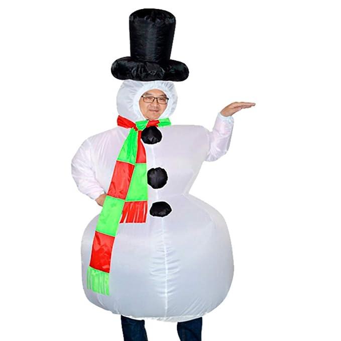 Steellwingsf Disfraz de Fiesta Elegante, diseño de muñeco de Nieve ...