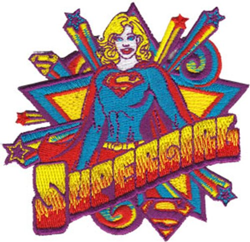 Application Supergirl Star Action Patch