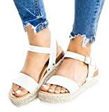 White Sandals for Women Flat Leather Fashion 2019