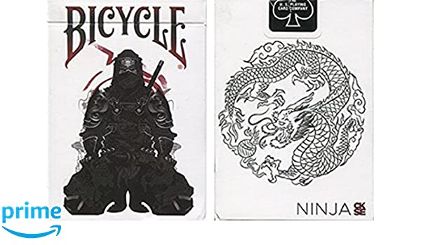 Baraja Bicycle Feudal Ninja: Amazon.es: Juguetes y juegos