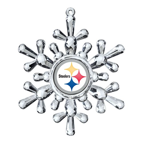NFL Pittsburgh Steelers Traditional Snowflake Ornament