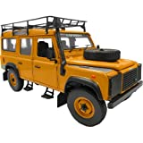 Land Rover Defender 110 Expedition Yellow 1/18 by Universal Hobbies 3884