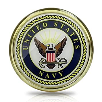 Amazon United States Navy Seal Color Metal Auto Emblem