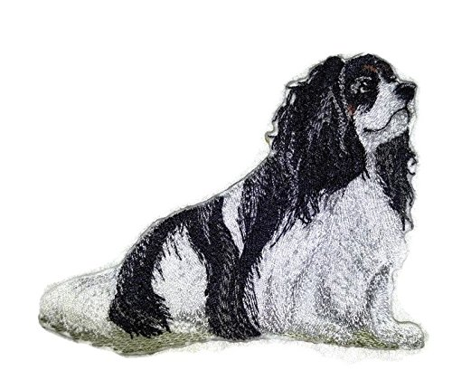 Amazing Custom Dog Portraits[Cavalier King Charles] Embroidered Iron On/Sew patch [4.5