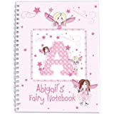 Personalised Fairy - A5 Softback Notebook - A Marvelous Gift For Kids, Baby & Children, Girls - Personalised & Unique