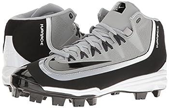 Nike Mens Huarache 2kfilth Pro Baseball Cleat Wolf Greyanthracitewhiteblack Size 8.5 M Us 5